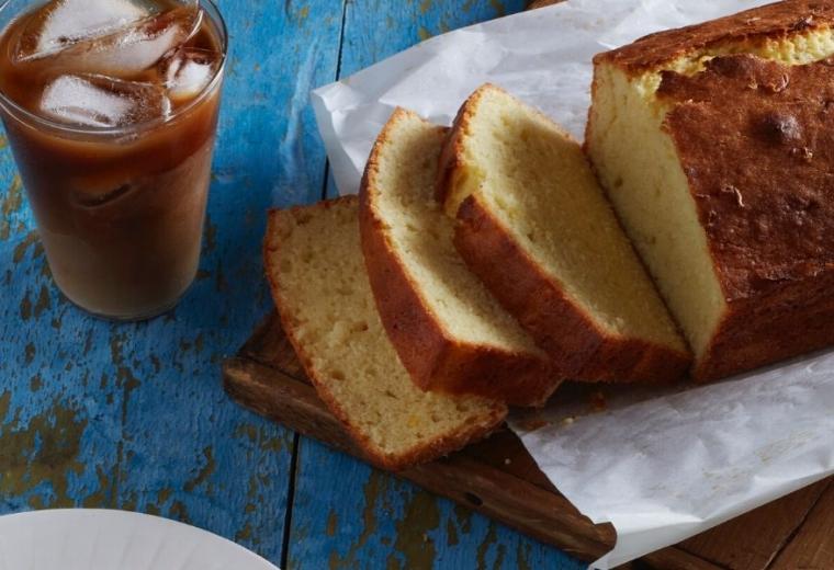 One Bowl Lemon Ricotta Poundcake recipe | Stacie Billis