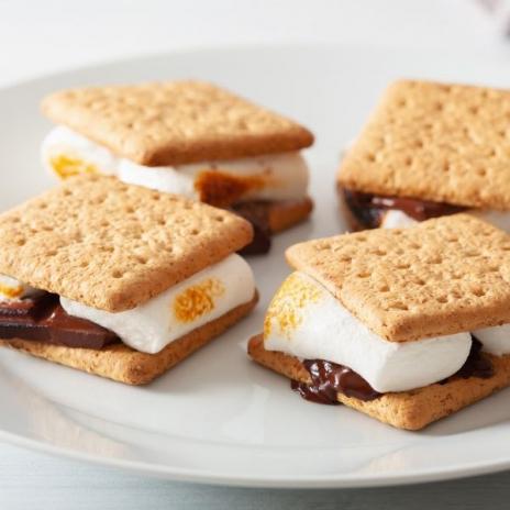 One-Bowl Honey Graham Cracker recipe   From Make It Easy cookbook by Stacie Billis