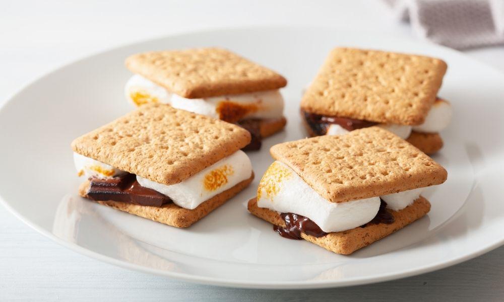 One-Bowl Honey Graham Cracker recipe | From Make It Easy cookbook by Stacie Billis
