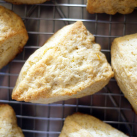 Lemon Cream Scones recipe: the cream makes ALL the difference! | Stacie Billis