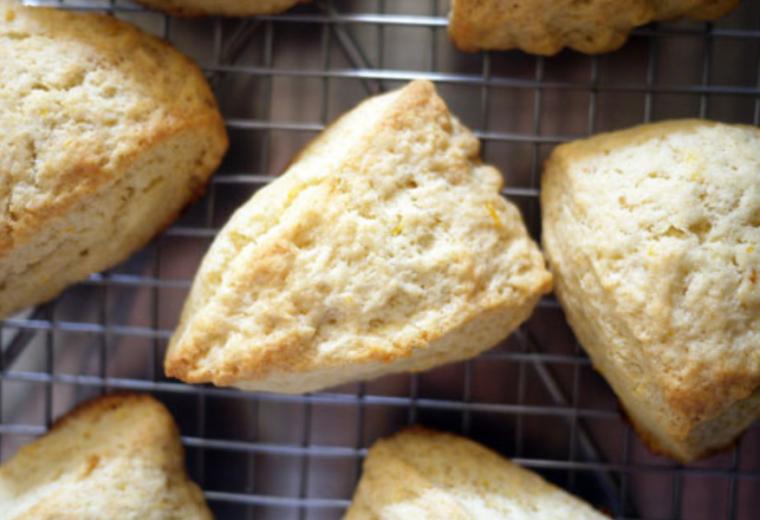 Lemon Cream Scones recipe: the cream makes ALL the difference! | Stacie Billis