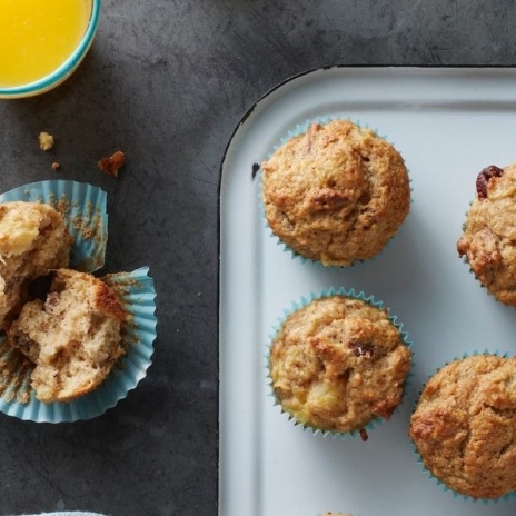 Easy muffin recipes: Hummingbird Muffins | from Make It Easy cookbook by Stacie Billis